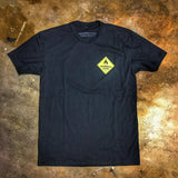 DANGEROUS GOODS™ FLAGSHIP T-SHIRT - DANGEROUS YELLOW