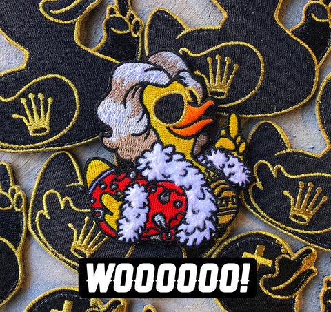 "Zero Fucks Duck Nature Boy ""Duck Flair"" Morale Patch"