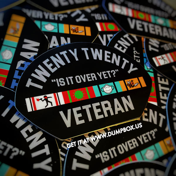 Dangerous Goods™️ Twenty Twenty Veteran Sticker