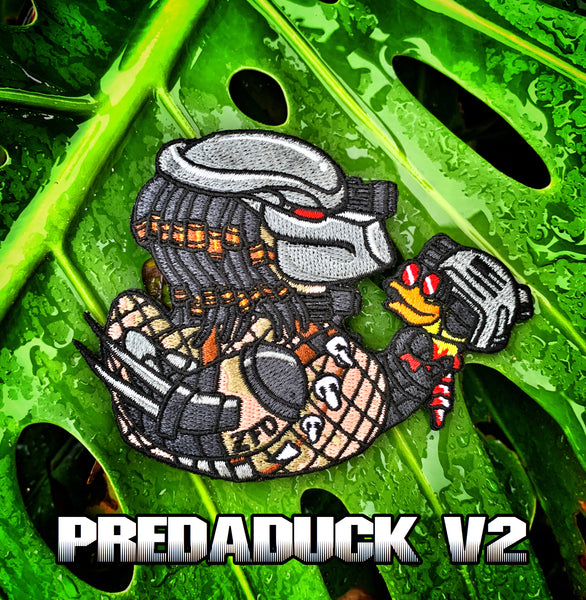 "Zero Fucks Duck ""PREDADUCK"" ZFD Morale Patch - V2"