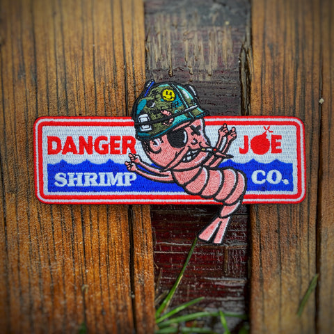 Dangerous Goods™️ Danger Joe Gump Shrimp Co. Morale Patch