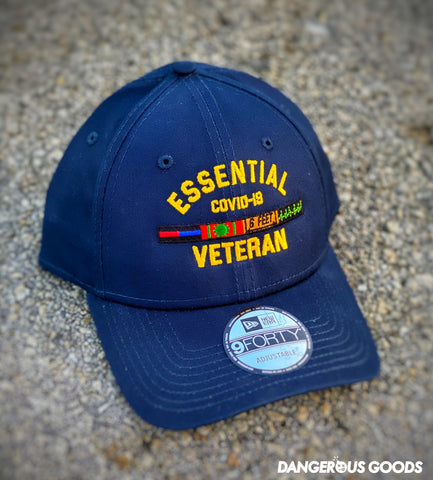Dangerous Goods™️ Essential Veteran New Era Low Profile Hat - Navy Blue