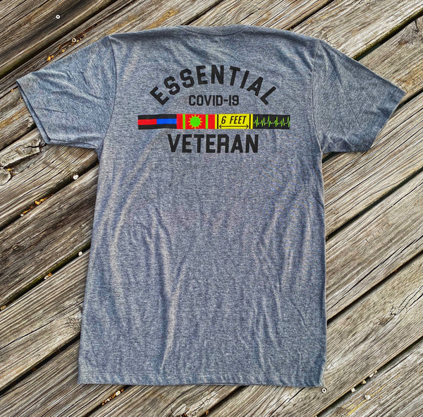 🦠 NEW 🦠 Dangerous Goods™️ Essential Veteran Covid-19 Police Fire Medical Morale T-Shirt