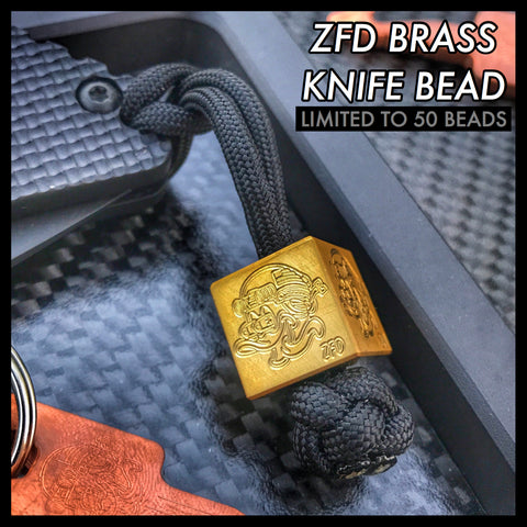 ZERO FUCKS DUCK ZFD SERIES 2 LIMITED EDITION KNIFE BEAD
