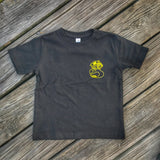 "ZERO FUCKS DUCK ""ZFD"" TACTICAL TODDLER CLASSIC T-SHIRT"
