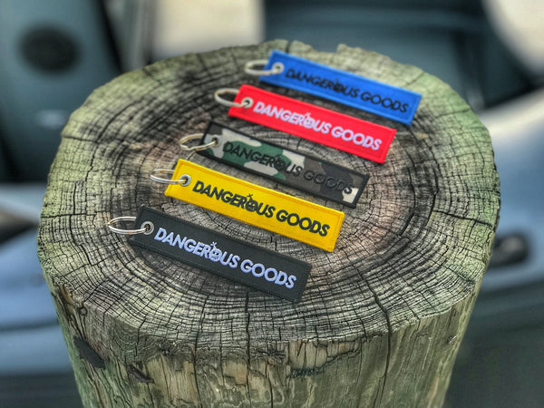 Dangerous Goods™ EDC Keychain Flight Tags