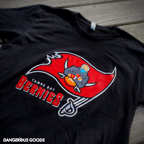 Dangerous Goods™️ Tampa Bay Bernie's Football Team T-Shirt
