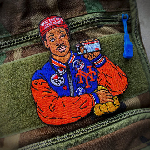 Prince Akeem New Yorker Morale Patch