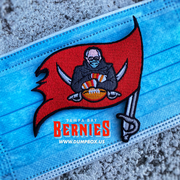 Dangerous Goods Tampa Bay Bernie's Football Team Morale Patch