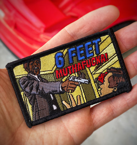 Dangerous Goods™️ 6 Feet Muthafucka Pulp Fiction Morale Patch