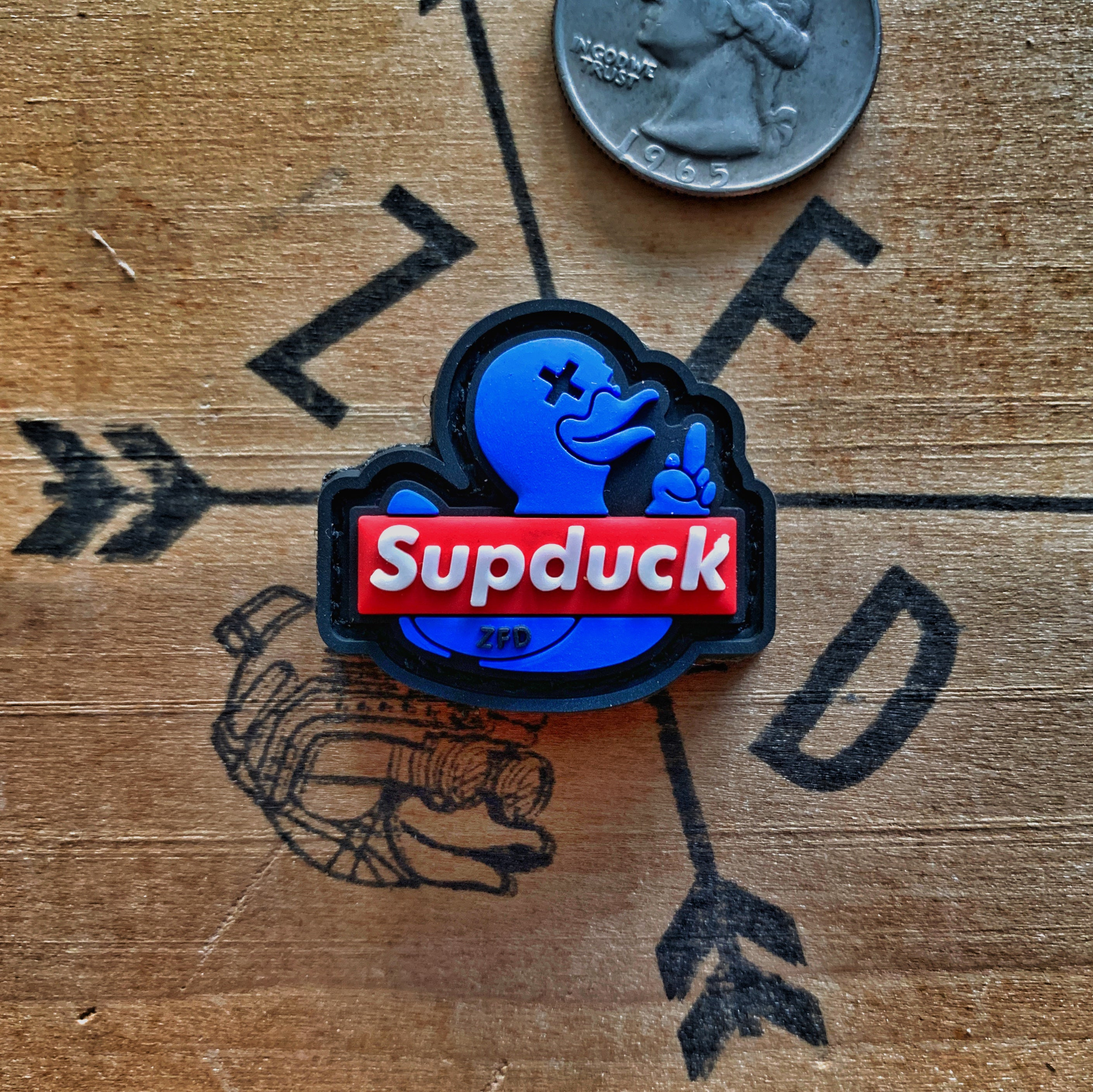 Zero Fucks Duck™ SUPDUCK Ranger Eye Morale Patch Series