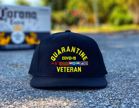 🦠 NEW 🦠 Dangerous Goods™️ Quarantine Veteran Morale Hat - Black
