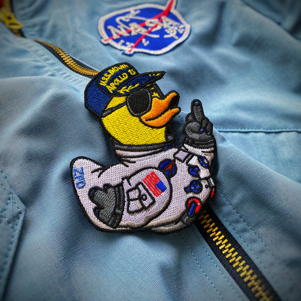 Zero Fucks Duck® Apollo 13 Duck Morale Patch