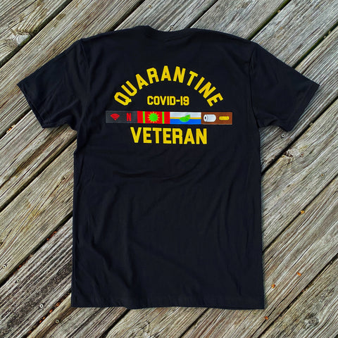 🦠 NEW 🦠 Dangerous Goods™️ Quarantine Veteran Morale T-Shirt