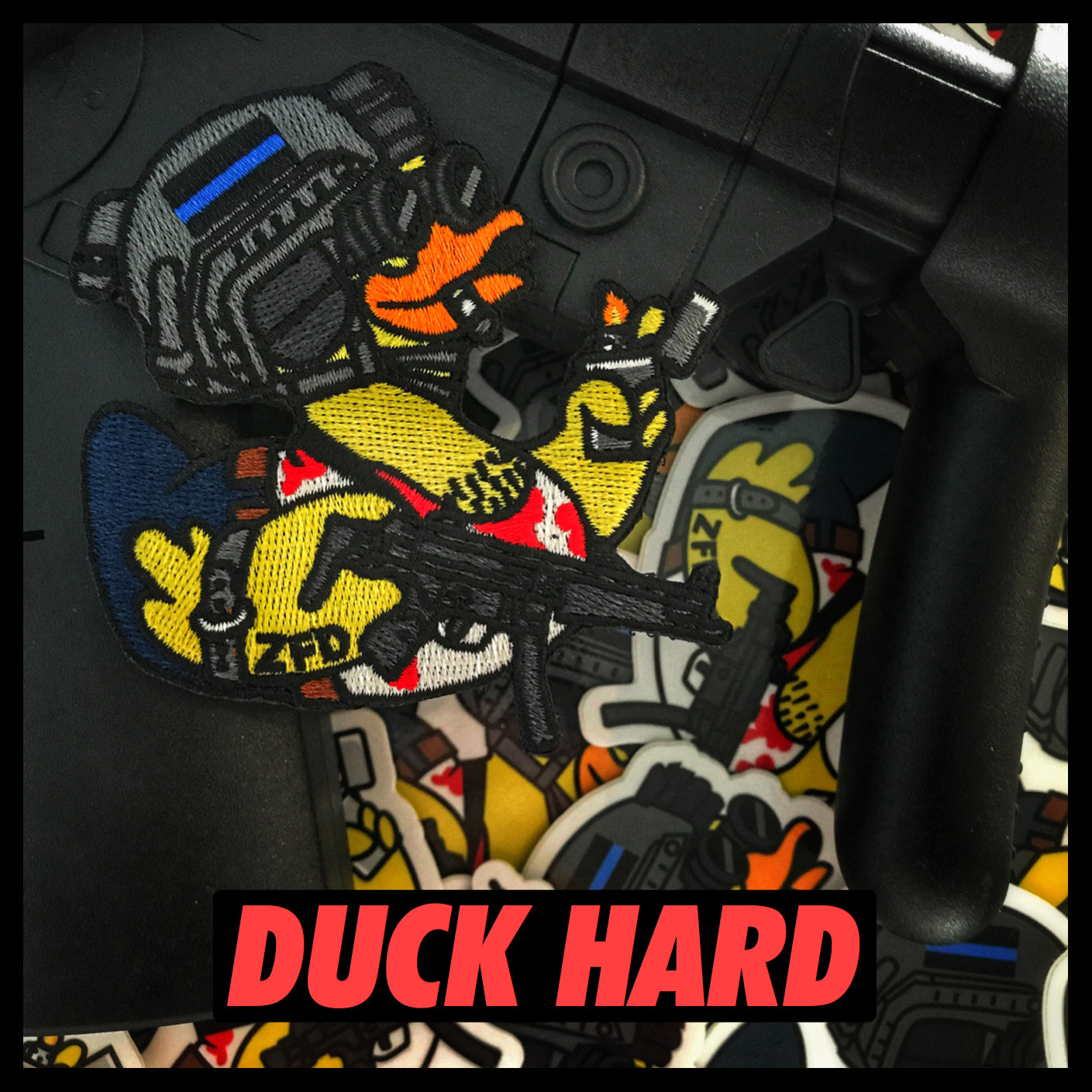 Zero Fucks Duck 'DUCK HARD: The Morale Patch Series