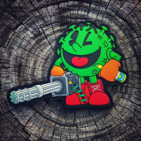 Dangerous Goods™️ Corona Pac RonaMan Mini Gun Morale Patch