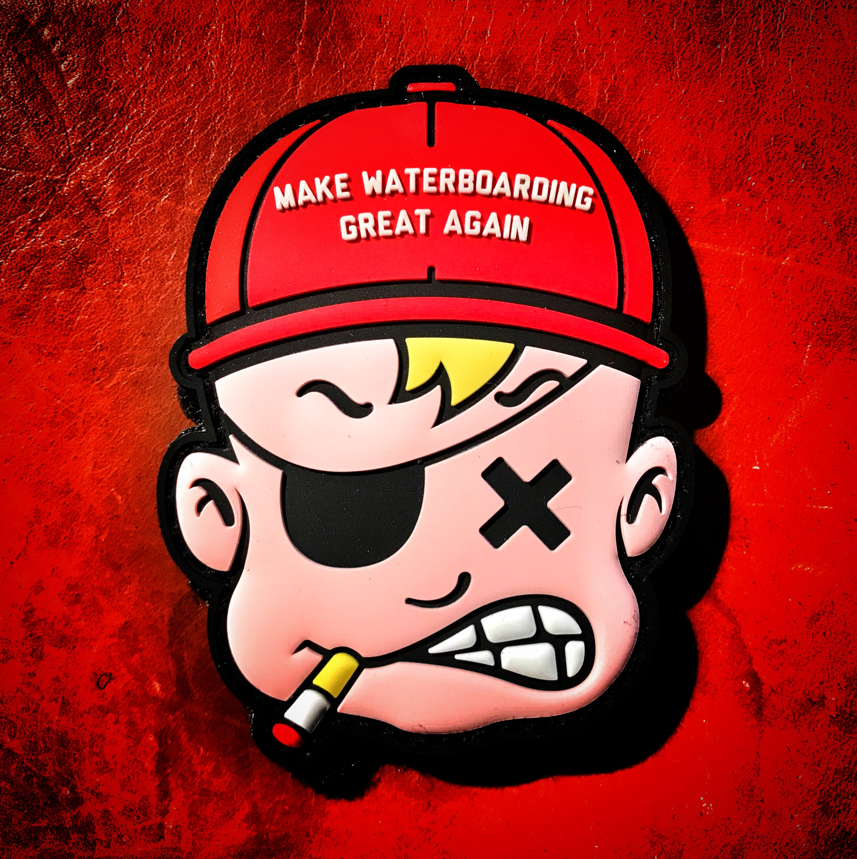 Dangerous Goods Danger Joe Make Waterboarding Great Again PVC Morale Patch