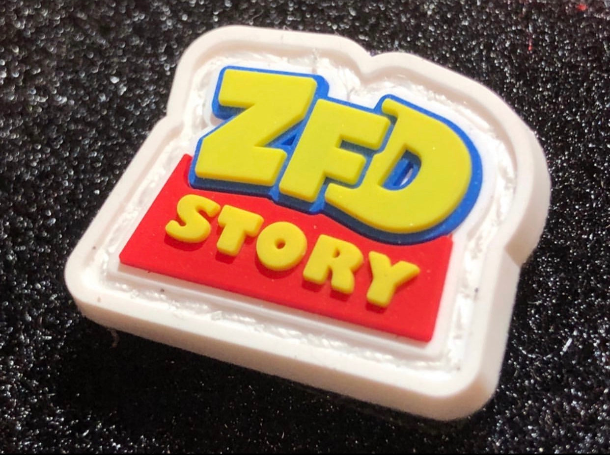 "ZERO FUCKS DUCK PVC ""ZFD STORY"" RANGER EYE MORALE PATCH"