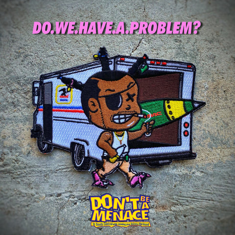 Danger Joe™️ Loc Dog Postal Delivery Van Patch
