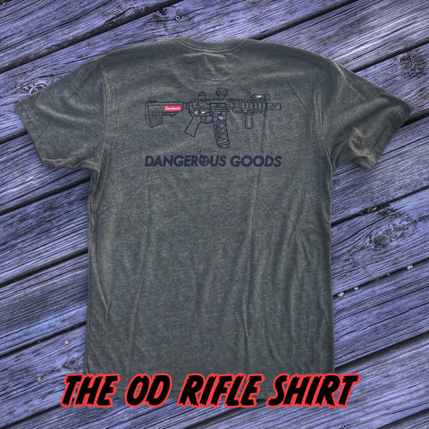 ZFD x Dangerous Goods SBR T-Shirt - OD Green