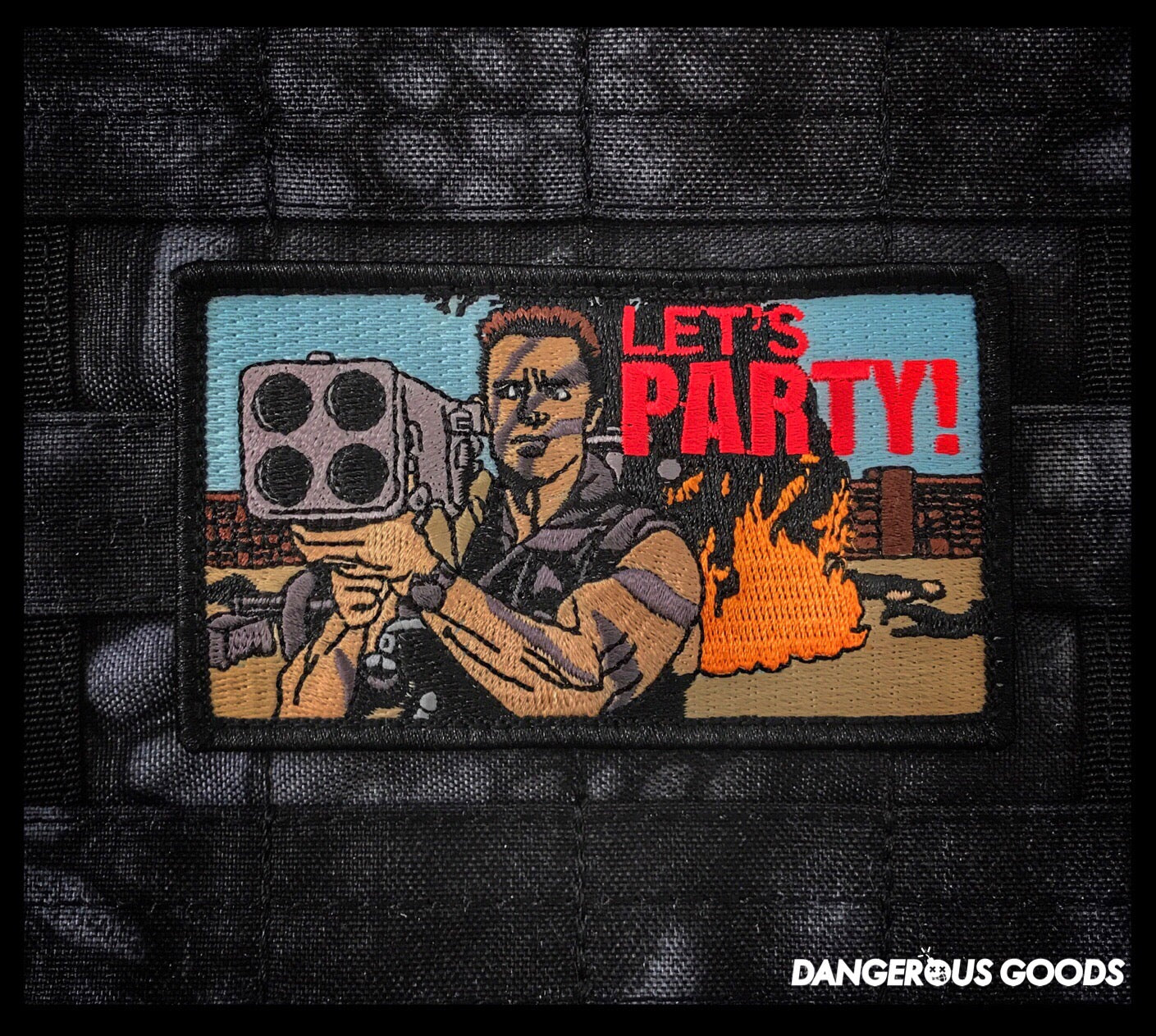 COMMANDO 'LETS PARTY' MORALE PATCH