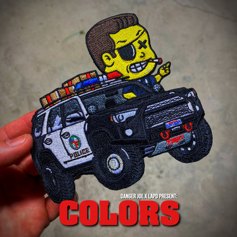 Danger Joe™️ Colors LAPD Yota 4runner Patrol Patch