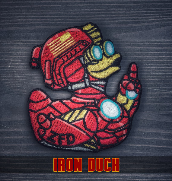 "Zero Fucks Duck™ ""IRON DUCK"" ZFD Morale Patch"