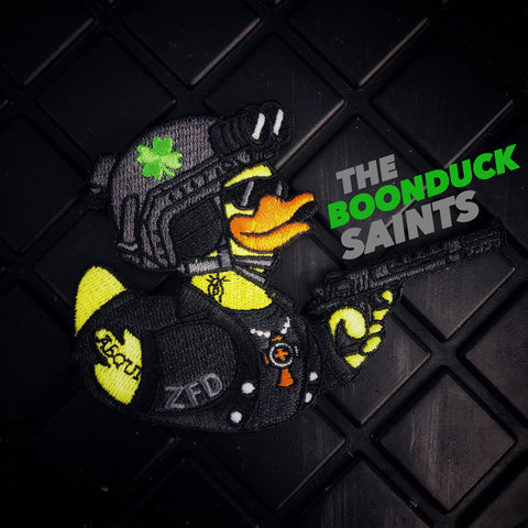 "ZERO FUCKS DUCK ST. PADDY'S 2019 ""BoonDuck Saints"" MORALE PATCH"