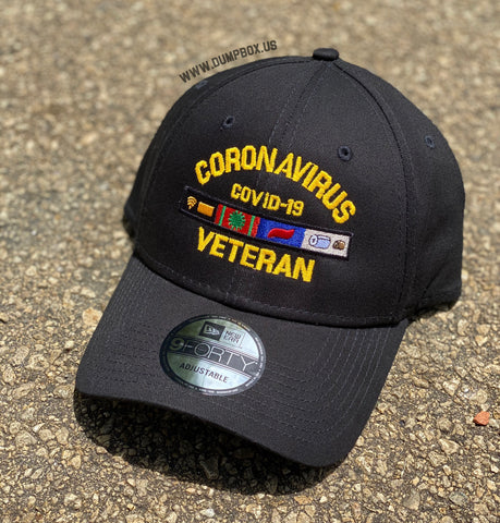 Dangerous Goods™️ Coronavirus Veteran New Era Low Profile Hat - Black