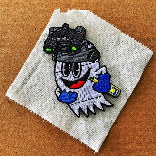 Dangerous Goods Corona Pac Ghost Toilet Paper Operator Morale Patch