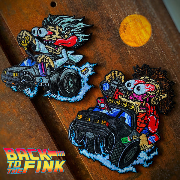 Dangerous Goods™️ Back To The Fink Patch Set