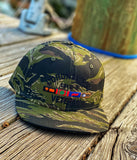 Dangerous Goods™️ Coronavirus Veteran Hat - Tiger Stripe Jungle Camo