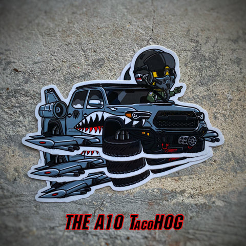 Danger Joe™️ A10 TacoHOG Tacoma Sticker