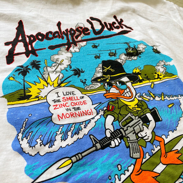 Zero Fucks Duck®️X Steve Nazar Apocalypse Duck Short Sleeve T-Shirt
