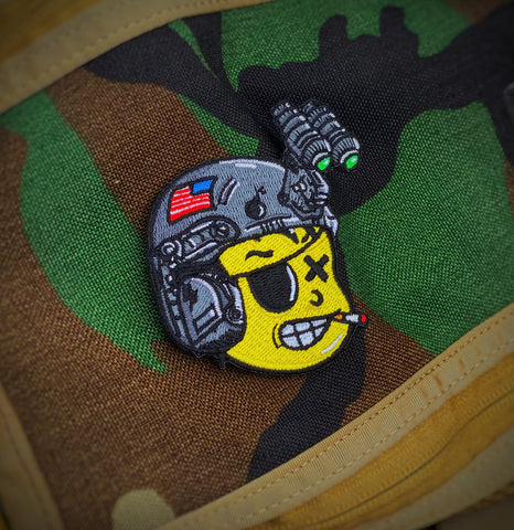 Dangerous Goods™️ Danger Joe 2.0 Night Vision Helmet Patch