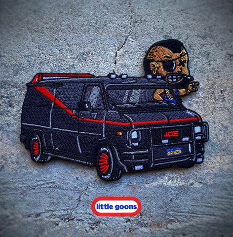 Danger Joe™️ Little Goons A-Team Van Patch