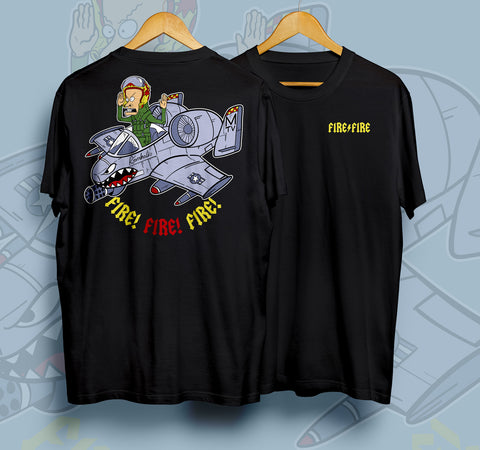 Dangerous Goods™ Kornholio A10 Warthog Killbox T-Shirt