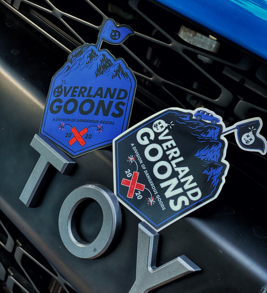 Dangerous Goods™ Overland Goons Flagship Stickers