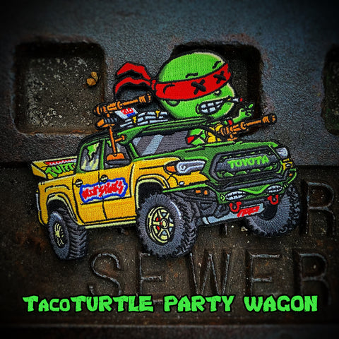 Danger Joe™️ Yota Taco Turtle Party Wagon Patch