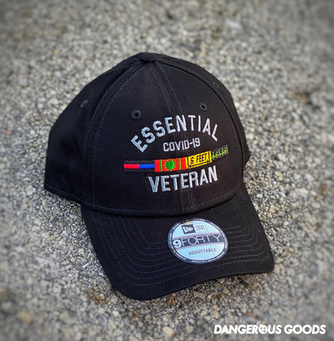 Dangerous Goods™️ Essential Veteran New Era Low Profile Hat - Black