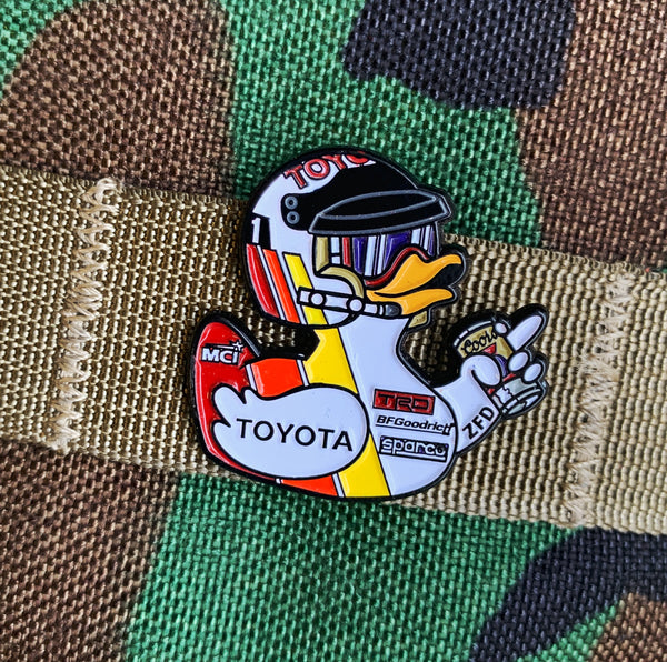 ZFD Limited Edition Pin - ZFD Ivan Toyo Duck