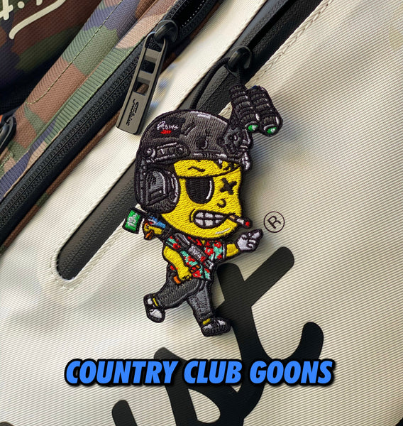 Dangerous Goods®️ Little Goons Action Figure Morale Patch - Country Club Goons