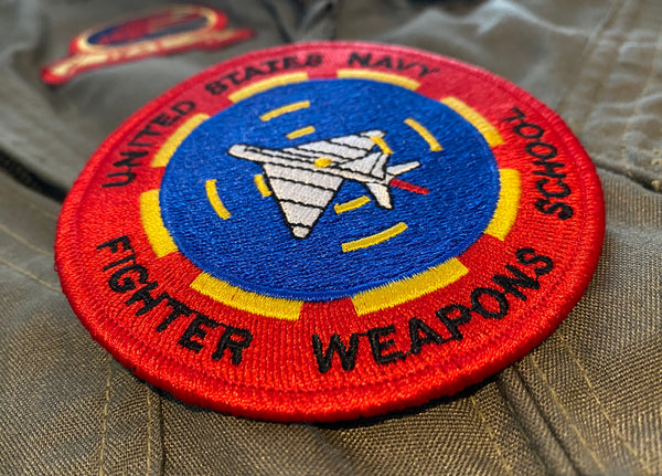 US NAVY TOPGUN FIGHTER WEAPONS SCHOOL MORALE PATCH