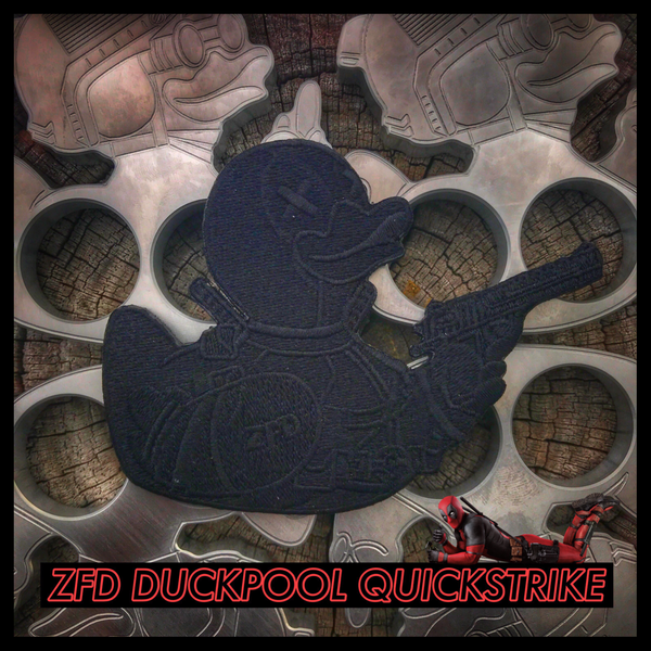 "ZERO FUCKS DUCK ""ZFD"" DUCKPOOL MORALE PATCH"