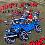 Dangerous Goods x Steve Nazar 'Happy Hour at the Aloha Snackbar' T-Shirt