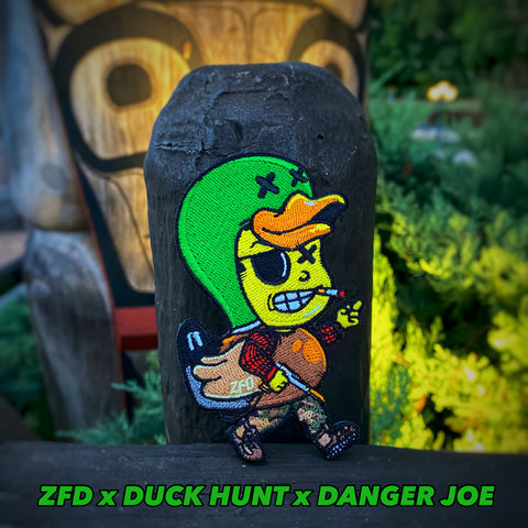 Zero Fucks Duck X Danger Joe Duck Hunt Mash-Up Patch