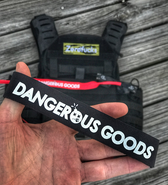 'DANGEROUS GOODS' CROAKIES XL SUNGLASSES RETAINERS - 2 COLORS