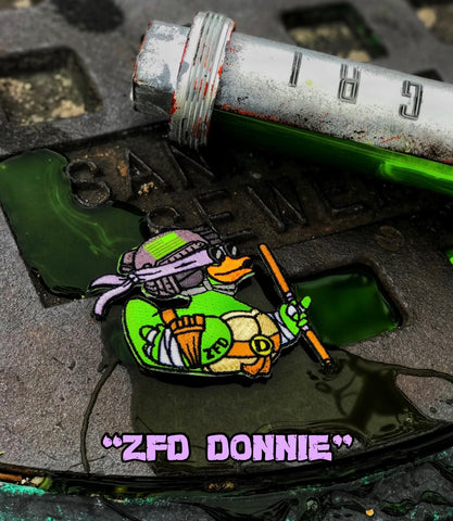 Zero Fucks Duck™️ Teenage Mutant Ninja Duck Patch Series