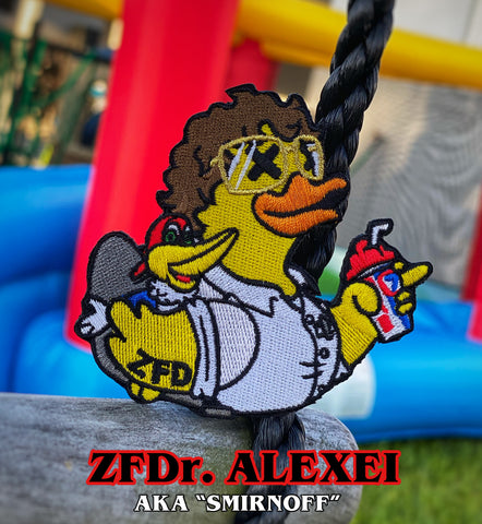 Zero Fucks Duck 'Stranger Ducks' ZFD Morale Patch Series