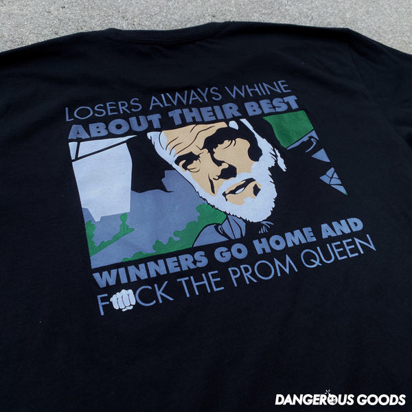 Dangerous Goods™️ Losers Always Whine About Their Best 'The Rock' Connery T-Shirt